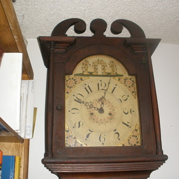 One of my favorite antique clocks...
