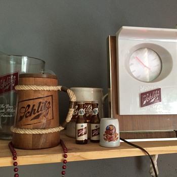 My remaining Schlitz collection - Breweriana
