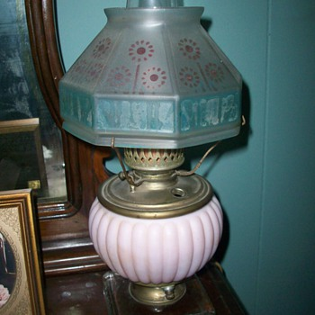 Oil lamp, Would love the history