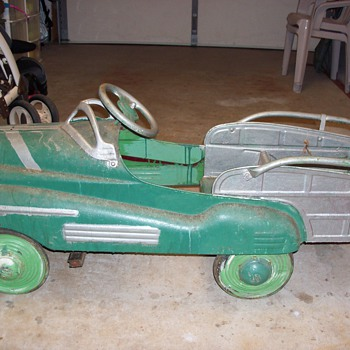 Antique Pedel Car Before Resteration