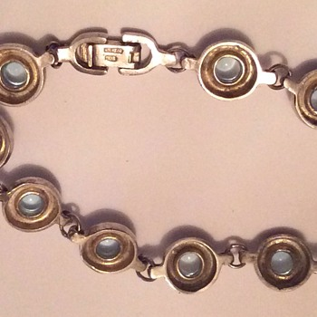 Moonstone bracelet - Costume Jewelry