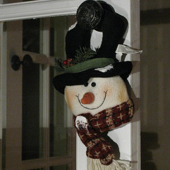Mr Snowman Hanger - Christmas