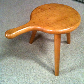 Prison Made Maple Stool