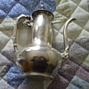 1 3/4 pts. Sterling Silver coffee/tea pot?