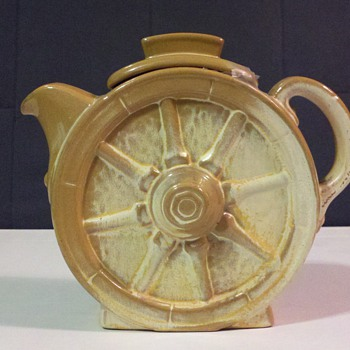 Frankoma Wagonwheel Milk Pitcher