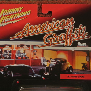 Johnny Lightning American Graffitti Complete Set of 12...First Release - Model Cars