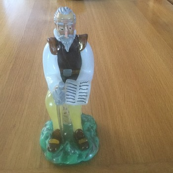 Spanish(?) Glass Figure