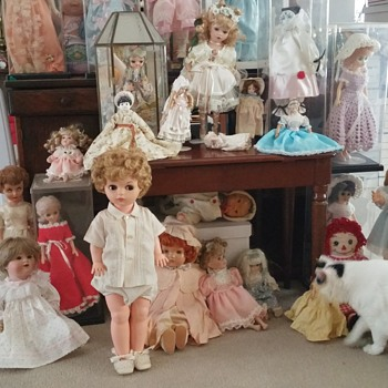 What is left of the doll collection - Dolls