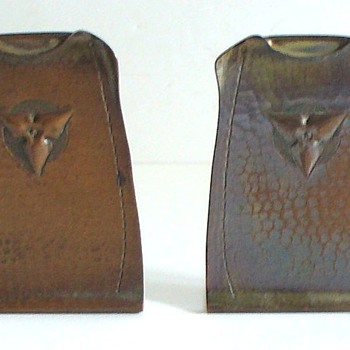 ROYCROFT: BEAUTIFUL AND USEFUL BOOKENDS