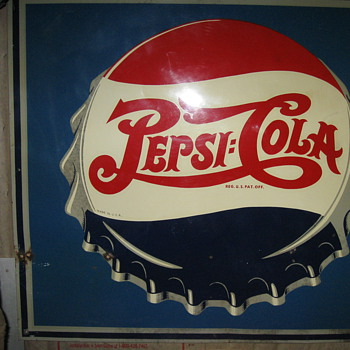 Double Dot Pepsi signs - Signs