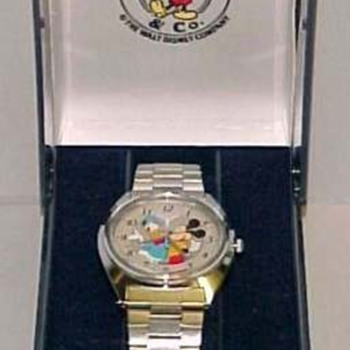 1989 Donald and Mickey watch - Wristwatches