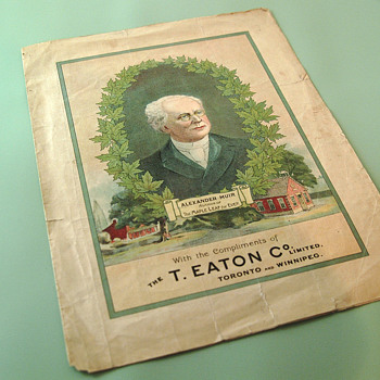 The T. EATON Co. Limited, Winnipeg The Maple Leaf Forever Anthem - Music Memorabilia