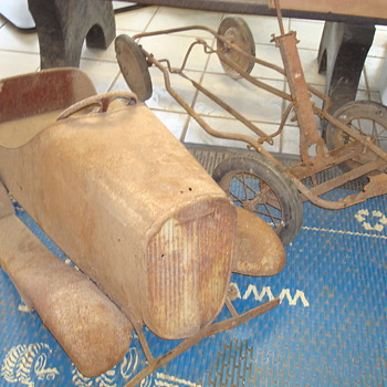 The mystery car from an old barn - Model Cars