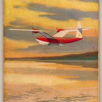 1943 - Model Flying Boats - Paper