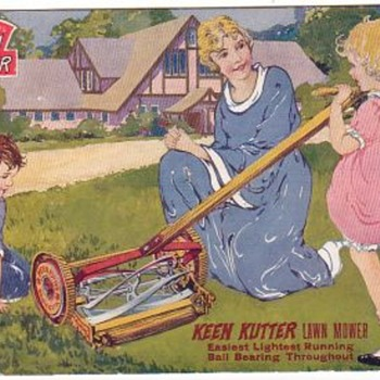 Keen Kutter Reel-mower ad sign - Signs