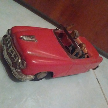 Japanese Tin Toy Car  - Toys