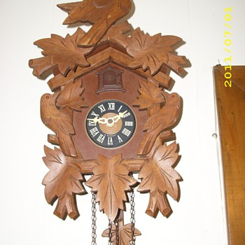 Schmeckenbecker who? No, it's a cuckoo..... - Clocks