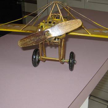 Vintage metal plane