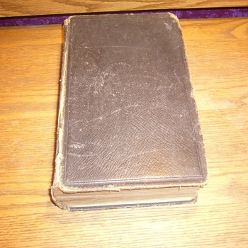 1873 THE HOLY BIBLE OLD AND NEW TESTAMENTS - Books