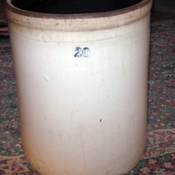 who made this type of crock? - China and Dinnerware