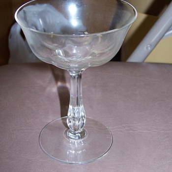 Unknown vintage stemware - China and Dinnerware