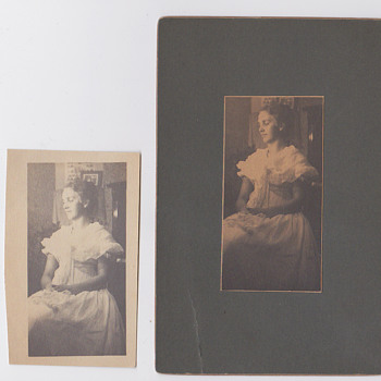 Photography made by Gas light 1900 - Photographs