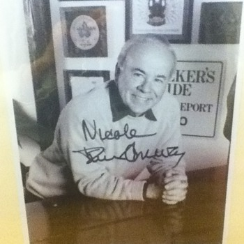 Autographed Tim Conway Photo