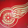 Vintage Olympia Stadium Detroit Red Wings Hockey WWJ Advertising Sign