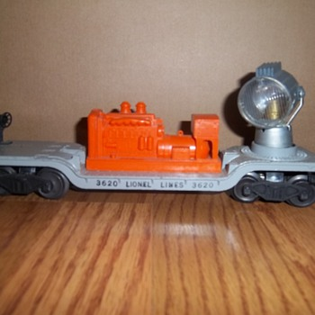 Lionel Trains Collection- Search light car #3620 - Model Trains
