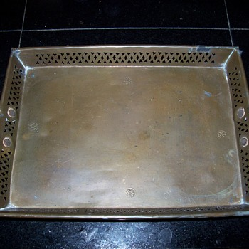Antique Bronze Serving tray