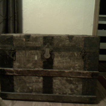 Antique Chest Need Info Please - Furniture