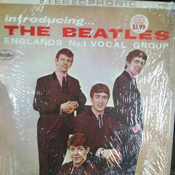 Veejay Records Introducing the Beatles - Records
