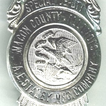 Macon County Special Deputy Plant Guard - Medals Pins and Badges