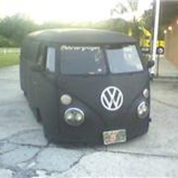 1963 panel van with a 454 chevy engine
