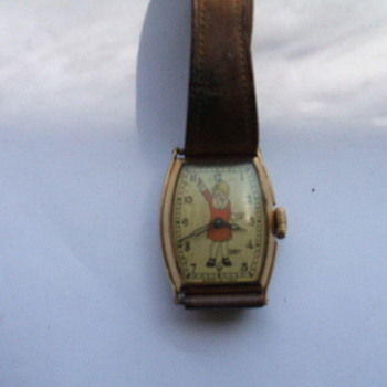 Orphan Annie Wristwatch  cicra 1935
