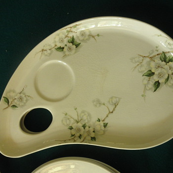 Palette plate Clarice Cliff Royal Staffordshire - China and Dinnerware