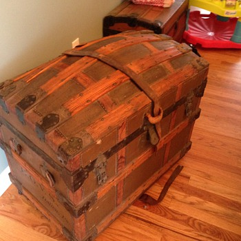 Dome Top Trunk - Family Heirloom - Furniture