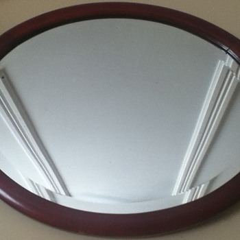 Antique Wall Mirror - Furniture