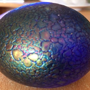 Iridescent Paperweight !