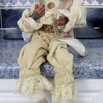 Yorkshire Terrier Porcelain Doll