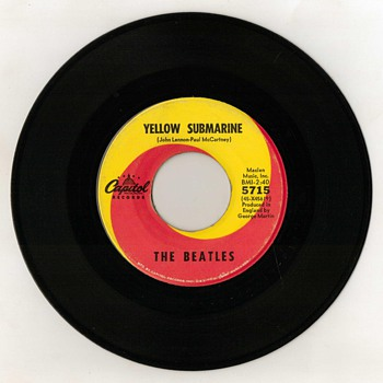 "45rpm Record - ""The Beatles"" (1966) - Records"