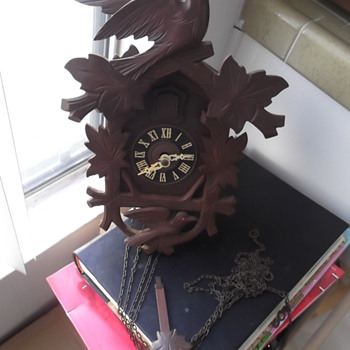 German 8 day Cuckoo Clock - Clocks