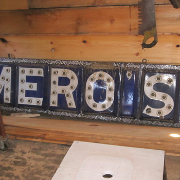 porcelain electric sign - Signs