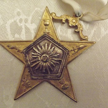 Star Medallion Award Masonic??