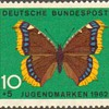 "1962 - W. Germany - ""Butterflies"" Postage Stamps"