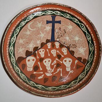 Dia de los Muertos platters