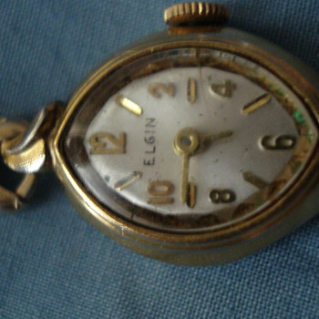 ELGIN WATCH MADE BY SPIEDEL HONK KONG - Wristwatches