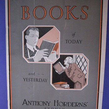 Anthony Hordern Mail Order Catalogue - Books