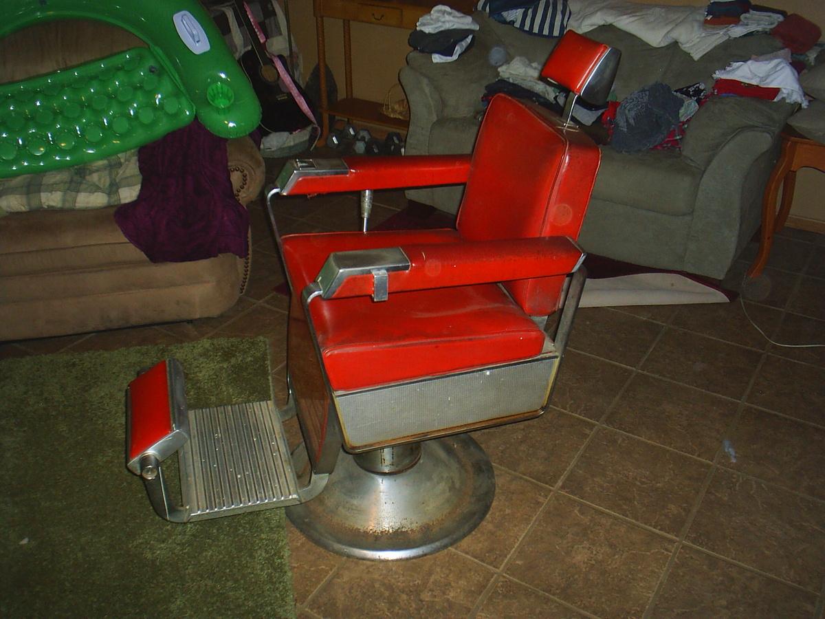 1962 Kochs Barber Chair Collectors Weekly