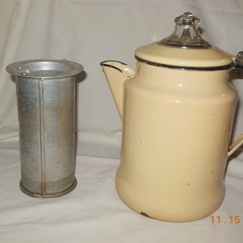 "Interesting ""vintage"" coffee pot"